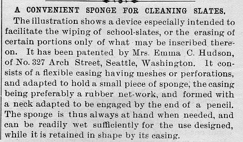 Scientific american slate pen sponge103