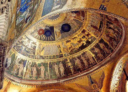 San Marco oblique creation scene