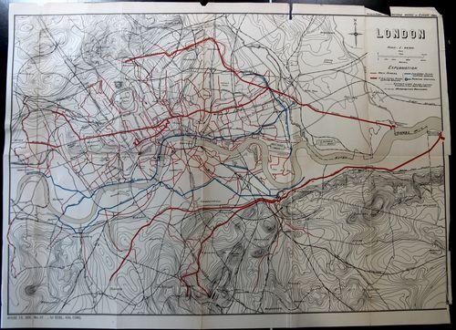 London Map Sewer