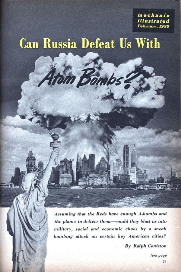 a history of the atomic bomb and how it changed the world as we know it Atomic bomb facts - 23: the development of the atomic bomb led to the cold war arms race which led to the development of the hydrogen bomb and intercontinental ballistic missiles atomic bomb facts - 24: japan is the only country in the world to have suffered from atomic bombings.