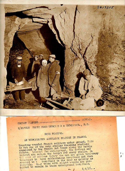 WWI Photos--underground  hospital188