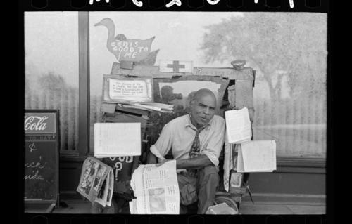 Newsstand--LC--Ruseell Lee Newsstand