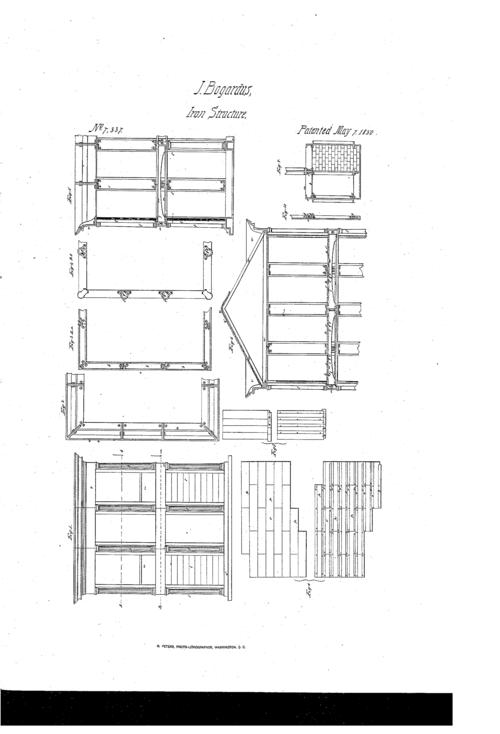 Bogardus patent