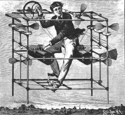 Flying macine 1885214