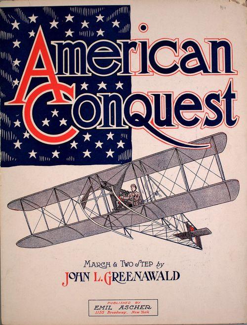 Aeroplane Amewrican conquest