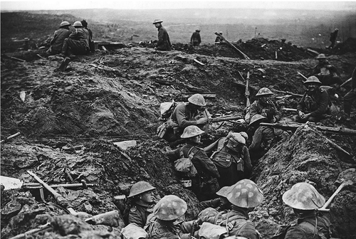 WWI Project Trench photo rough condition