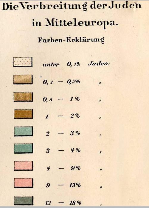 Maps Jewish populations in Europe