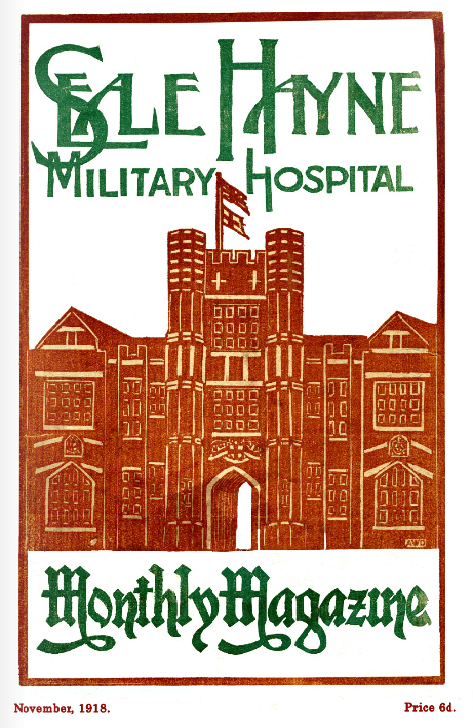 WWI Project Seale Hayne Nov 1918