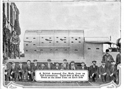 WWI Project armored loco272