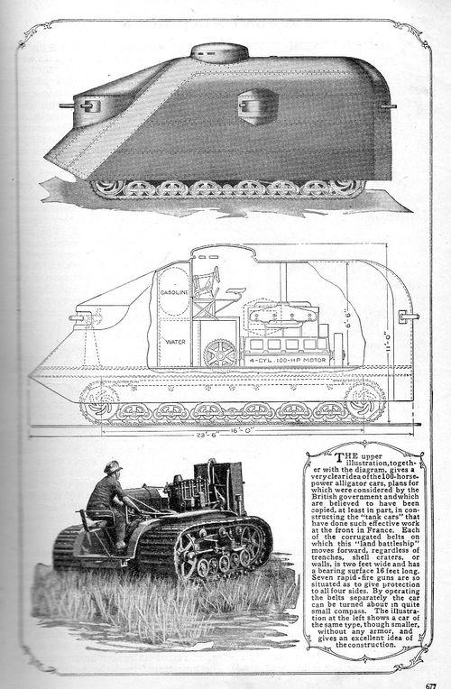 WWI Project tank 1916275