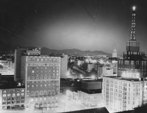Atomic bomb cities L.A.