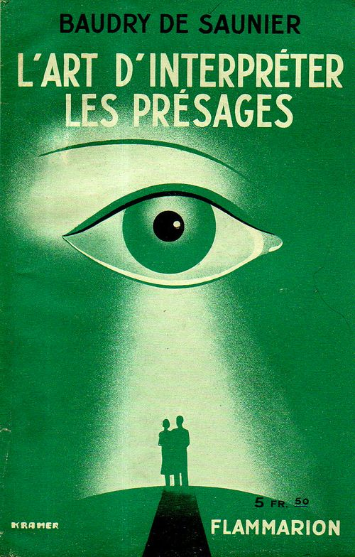 Cover design big eye de saunier365