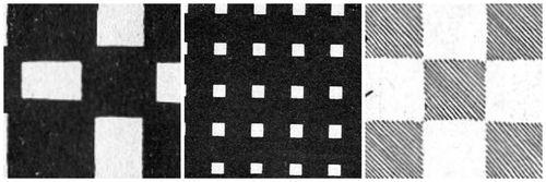 Square montage