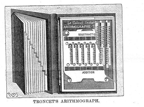 Troncet arithmometer430