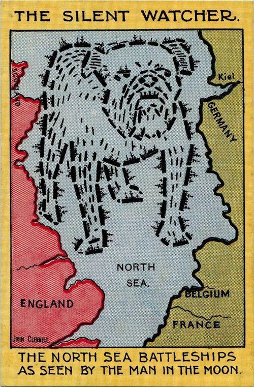 Maps propaganda navy