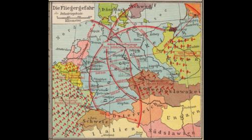 Maps air raid 1936