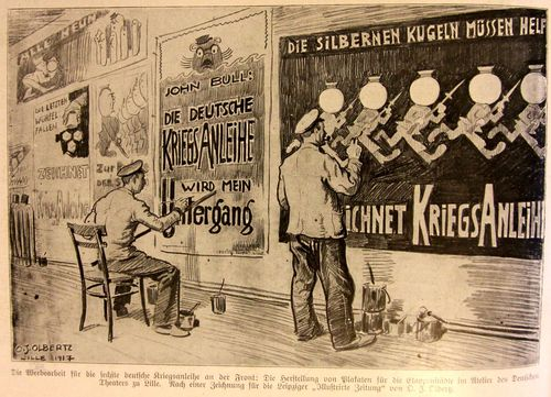 WWI poster painters