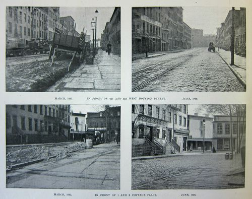 NYC Street before and after 4 of 4