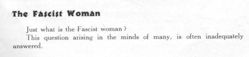 Women of facism103