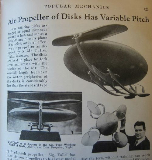 Enterprise flying disk 1932