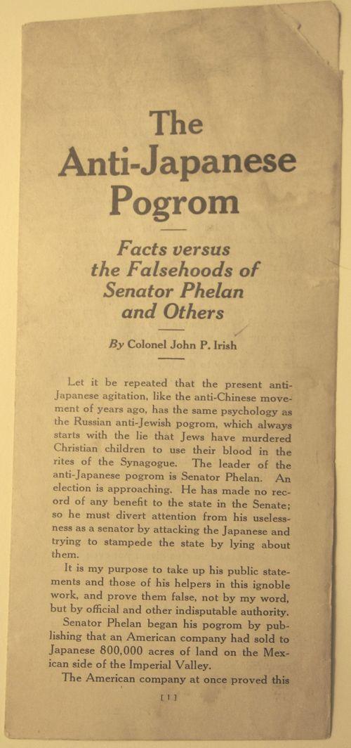 Japanese pogrom