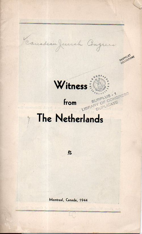 Witness from the netherlands a166