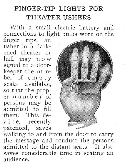 Inventions finger tip431