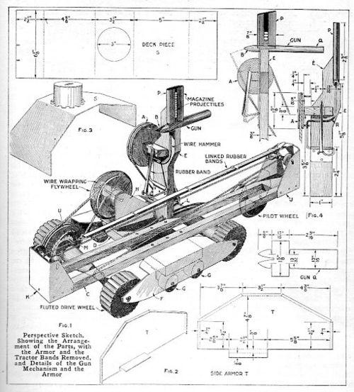 Tank model 1917444