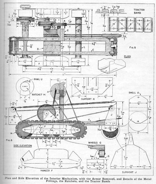 Tank model 1917445