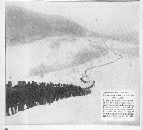 Wwi long line in snow456