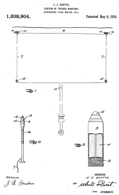 Patent trench electrocution