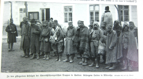 WWI Project 1914 Serbian prisoners