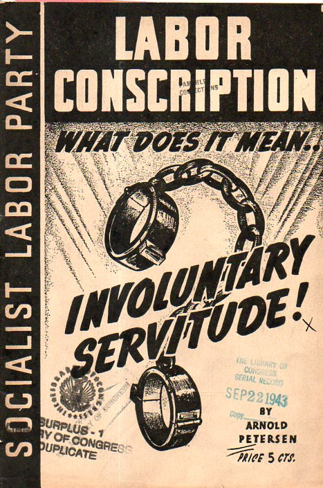 Labor Conscription761