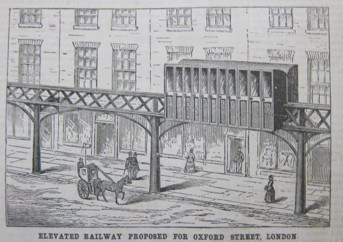 Sci Am 1876 elevated railway