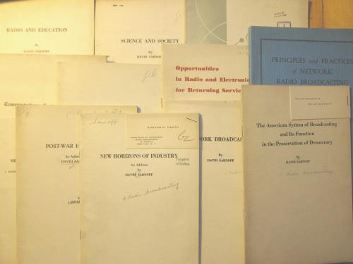Sarnoff pamphlets