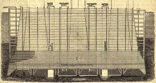 Brooklyn Bridge Caisson wikimedia