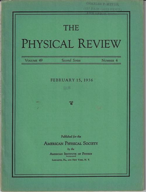 PR 1936 Rabi NMR paper