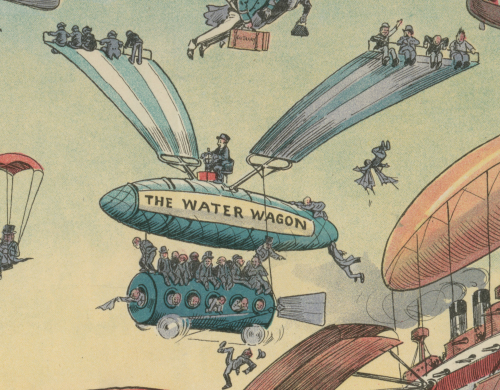 Airships future panama canal water wagon