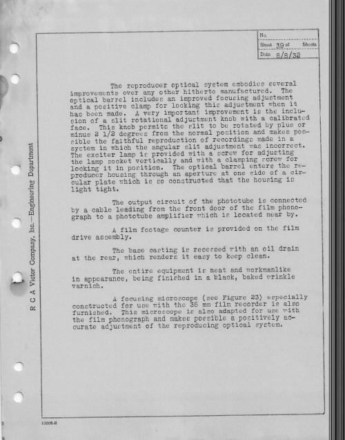 RCA Photophone Recording Sysytem 1932 _5__0002