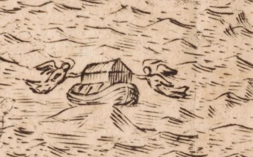 Noah ark ararat detail