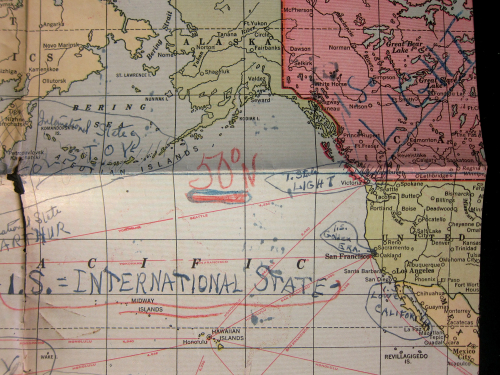 Maps Outsider 1945 San Fran