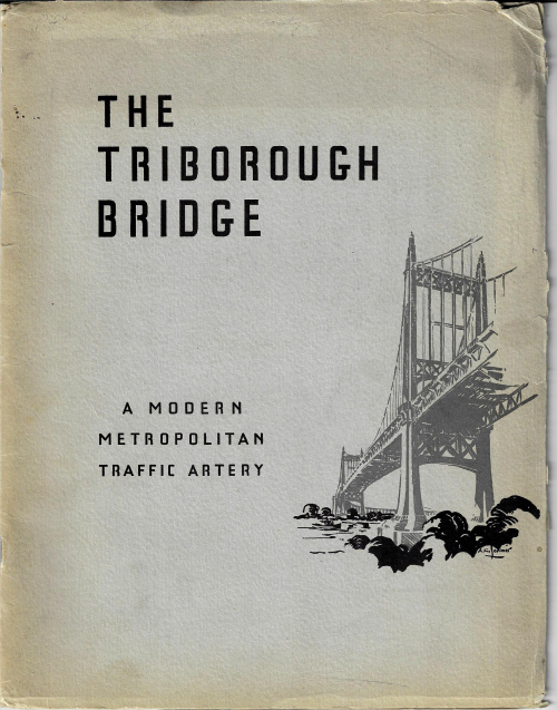 Triborough bridge pamphlet
