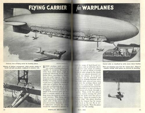 Pop Mech 1942 May diribible cross section