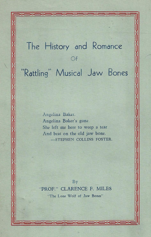 Books cover rattling jaw bones