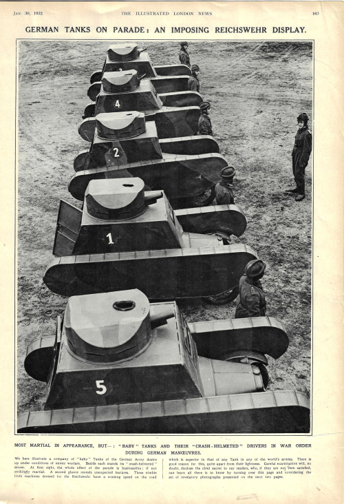 Tanks german 1932 _1_