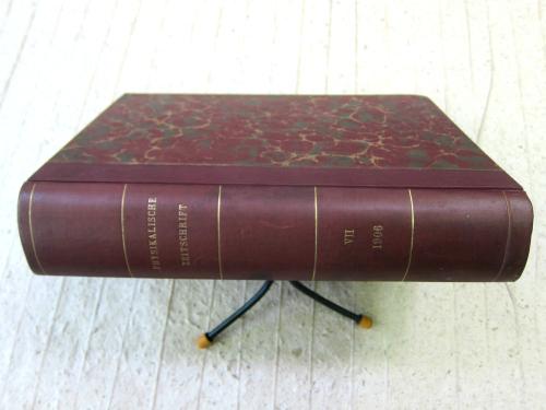 Phys Zeit 1906 vol 7