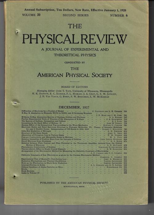 PR 1927 davisson