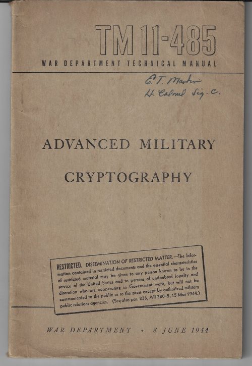 Cryptography military _1_