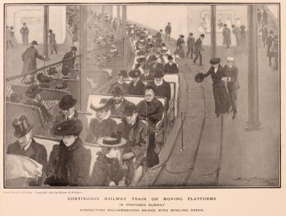 Continuous railway