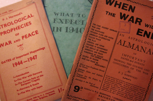 Books astrology WWII war will end